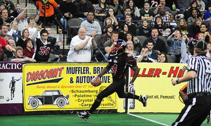 Chicago Slaughter - Barrington: $6 for Outing to Chicago Slaughter Game at Sears Centre Arena in Hoffman Estates ($13 Value). Seven Games Available.