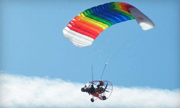 Inland Paraflite - Victorville: 15- or 30-Minute Introductory Paraplane Flight at Inland Paraflite (Up to 51% Off)
