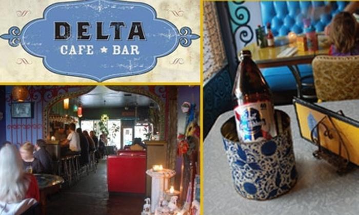 Delta Cafe  - Woodstock: $12 for $25 Worth of Comfort Food at Delta Cafe