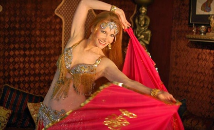 5-Class Punch Card (a $50 value) - Belly Dance by Gypsy in Winston Salem