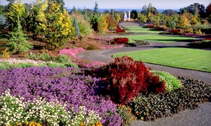 The Oregon Garden: Membership at The Oregon Garden in Silverton. Choose Between Two Options.