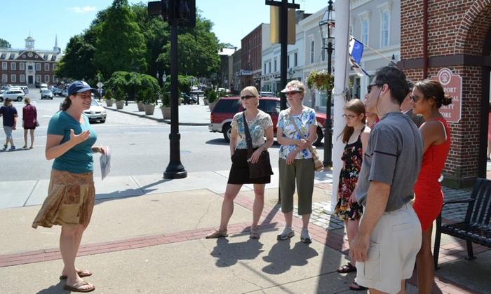 Newport History Tours - Brick Market: $15 for Golden to Gilded or Discover Colonial Newport Tour for Two from Newport History Tours ($15 Value)