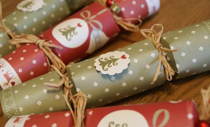 image for Christmas Decorating Workshop for One or Two at Midas Touch Crafts (Up to 80% Off)
