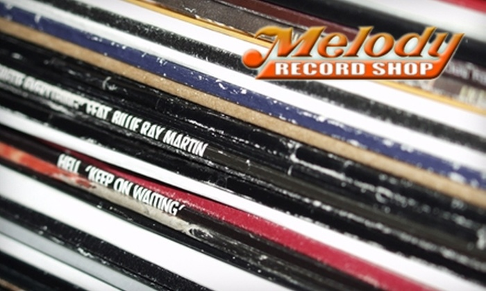Melody Record Shop - Dupont Circle: $10 for $20 Worth of CDs, DVDs, and Vinyl at Melody Record Shop