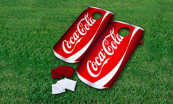 Coca-Cola or Bud Light Can Cornhole Bean Bag Toss Game: Coca-Cola or Bud Light Can Cornhole Bean Bag Toss Game. Free Returns.