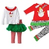 Girls' Festive Holiday Outfits