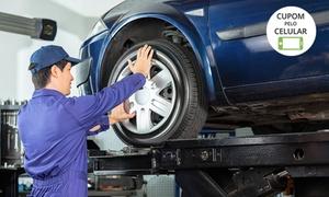 Impacto Pneus e Rodas – Asa Norte: 3 opções de pacote de revisão automotiva (opção com troca de óleo) no Impacto Pneus e Rodas – Asa Norte
