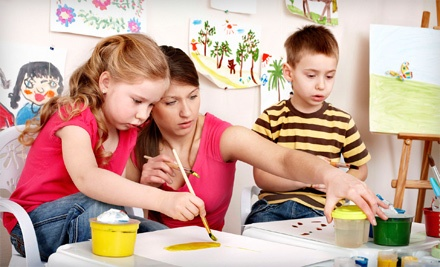 Four Weeks of Art or Academic Classes, or Four Weeks of Piano Lessons at Leading Kids Academy (Up to 68% Off)