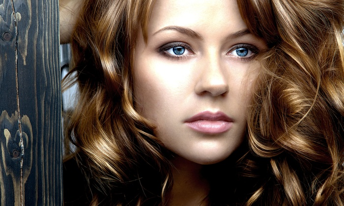 Studio Spice - Farragut: Haircut with Optional Protein Treatment or Partial Highlights at Studio Spice (Up to 53% Off)