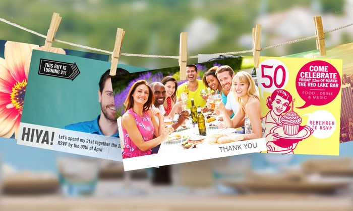 """PrinterPix: Personalized 5""""x7"""" Greeting Cards from Printerpix (Up to 87% Off)"""