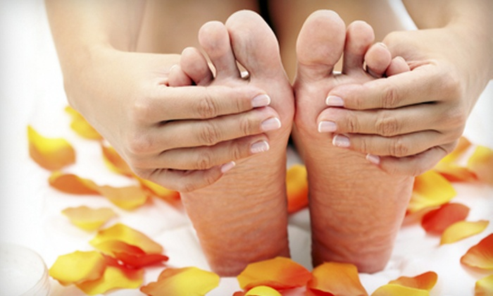 Advanced Foot Specialists - Greenfield: Laser Toenail-Fungus Removal for One or Both Feet at Advanced Foot Specialists (Up to Half Off)