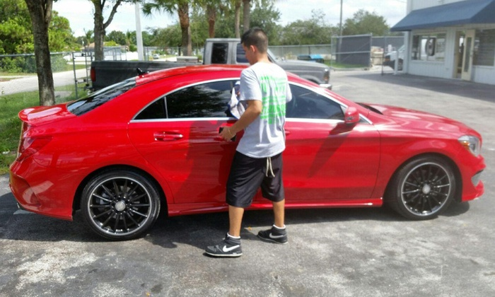 Citi Tint And Customs - Citi Tint And Customs: Window Tinting for a Car from Tint Citi (45% Off)