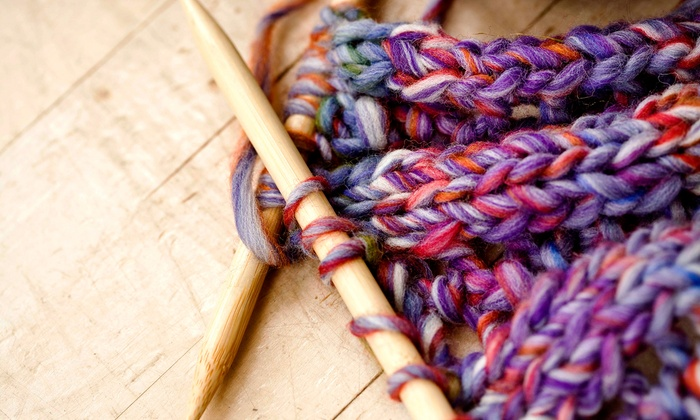 All About Yarn - Azusa: 5 or 10 Knitting or Crocheting Lessons at All About Yarn (Up to 53% Off)