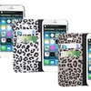 iPM Leopard-Print Faux Leather Wallet Case for iPhone 6