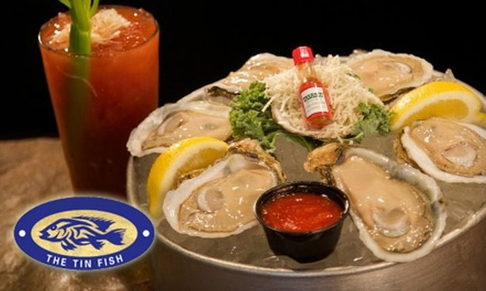 The Tin Fish - Newburgh: $7 for $15 Worth of Fresh Seafood, Drinks & More at The Tin Fish in Newburgh