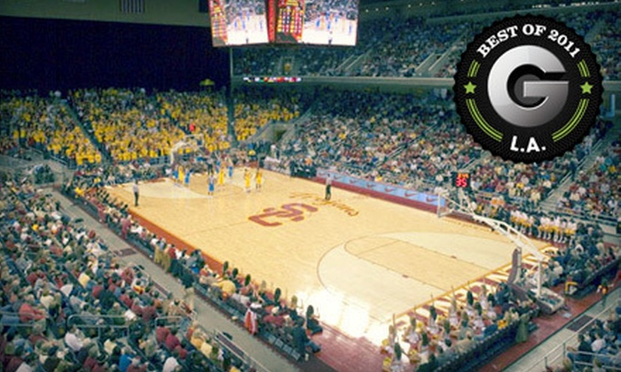 USC Trojans Men's Basketball - South Central LA: USC Trojans Men's Basketball Outing for One, Two, or Four at Galen Center on March 3 at 3 p.m. (Half Off)