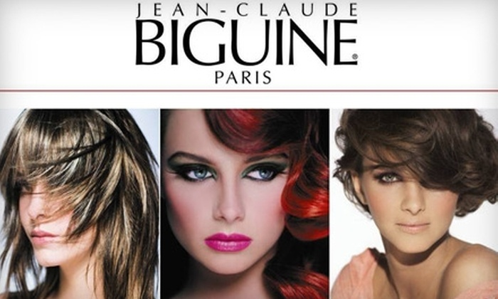Jean-Claude Biguine Salon - Altos Del Mar: $42 for a Shampoo, Cut, Blow-Dry, and L'Oréal Powerdose Treatment at Jean-Claude Biguine