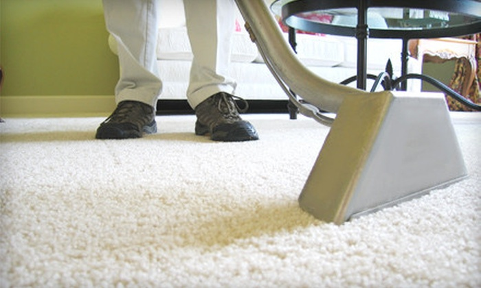 Clean Carpet Professionals - Madison: $49 for Carpet Cleaning and Deodorizing for Two Rooms and a Hall or Stairway from Clean Carpet Professionals ($120 Value)