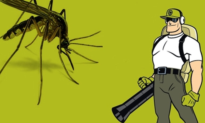 Mosquito Squad of Suburban Louisville - Louisville: $44 for Up to One Acre of Mosquito Barrier Spray from Mosquito Squad of Suburban Louisville (Up to $99 Value)