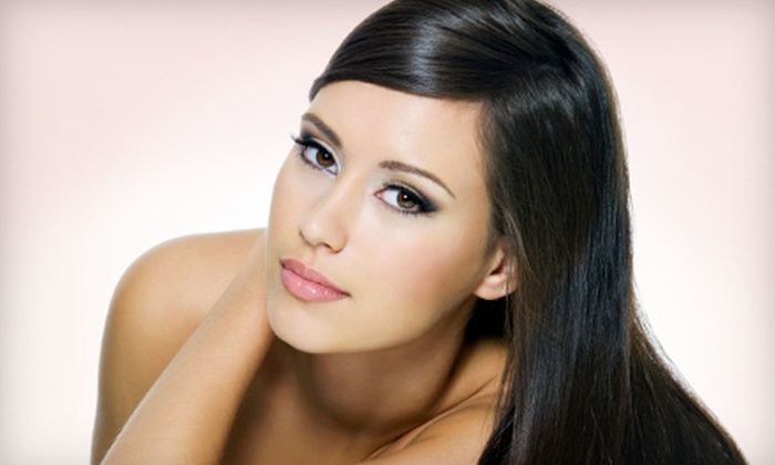 Bellazza Salon and Boutique - Richland Heights East: $99 for a Keratin Hair-Straightening Treatment at Bellazza Salon and Boutique (Up to $250 Value)