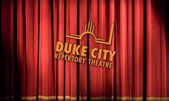 "Duke City Repertory Theatre - Barelas: $19 for Two Tickets to the Duke City Repertory Theatre's Production of ""Jacob Marley's Christmas Carol"" at The Filling Station (Up to $40 Value)"