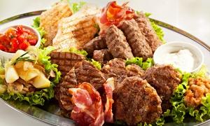 Gaststätte Zur Friedenslinde: Slowenisches Menü mit Aperitif und Grillplatte für 2, 4 oder 6 in der Gaststätte Zur Friedenslinde (bis zu 53% sparen*)
