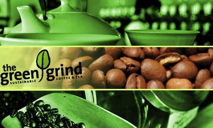 The Green Grind - Trinity - Bellwoods: $10 for $20 Worth of Coffee, Tea, and More at The Green Grind