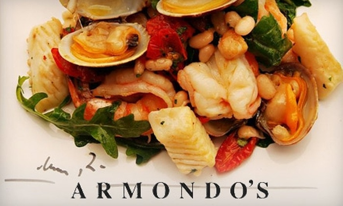 Armondo's Café Italiano - Renton: $15 for $35 Worth of Locally Sourced Italian Fare at Armondo's Café Italiano in Renton