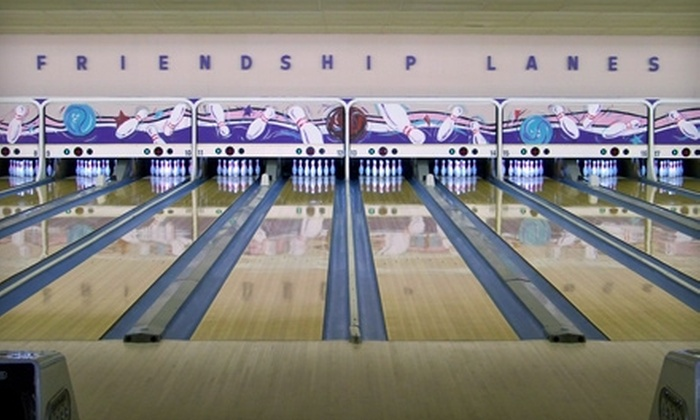 Friendship Lanes - Hancock: $10 for $20 Worth of Bowling, Drinks, and More at Friendship Lanes