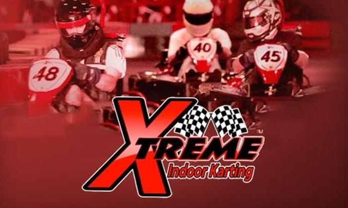 Xtreme Indoor Karting - Cypress Bend Condo: Racing at Xtreme Indoor Karting. Two Options Available.