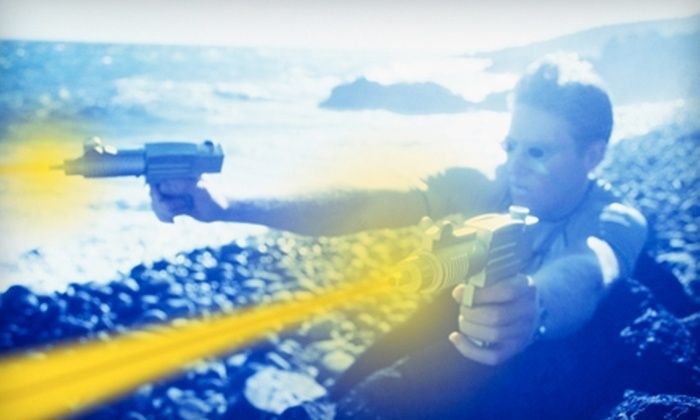 LazerParty - Kalamazoo: $139 for a Deluxe Laser-Tag Party Package from Lazer Party ($295 Value)