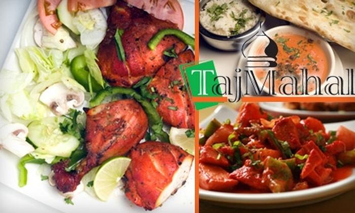 Taj Mahal - North Campus: $10 for $20 Worth of Indian Cuisine and Drinks at Taj Mahal