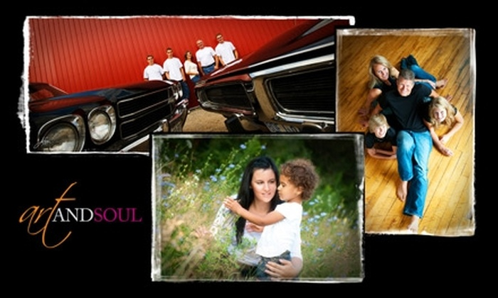 Art and Soul Photography - Alison: $56 for a Professional Family Portrait Package Including an 11x14 Print from Art and Soul Photography in Waterloo ($310 Value)