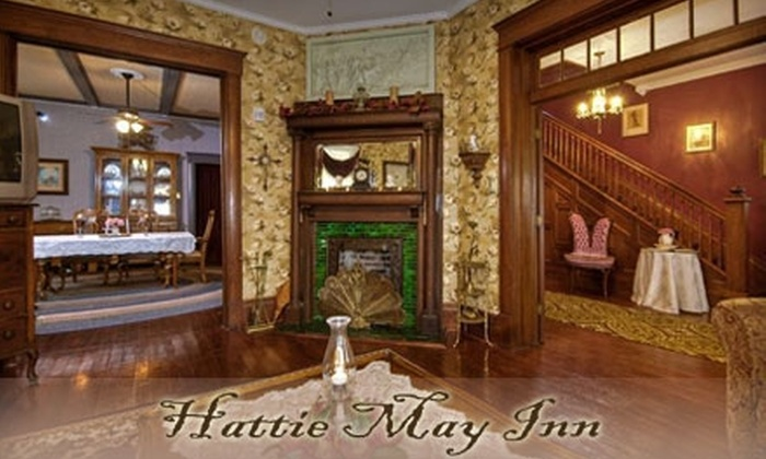 Hattie May Inn - Fort Worth: $79 for a Romantic One-Night Stay for Two with Romance Package at Hattie May Inn (Up to $180 Value)