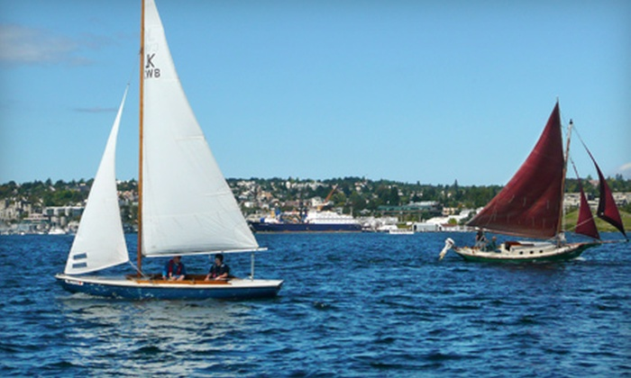 The Center for Wooden Boats - South Lake Union: $187 for a SailNow! Sailing Course Package at the Center for Wooden Boats ($375 Value)