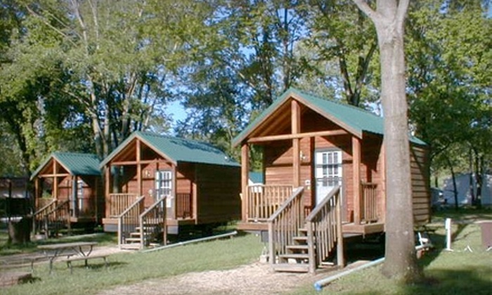 Pin Oak Creek RV Park - St Louis: Camping or Camping Plus Paintball at Pin Oak Creek RV Park in Villa Ridge. Two Options Available.