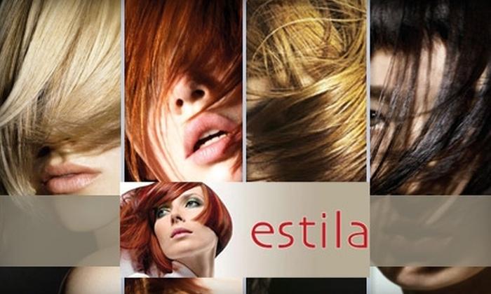Estila Salon - Presidio Heights: $35 for $75 Worth of Hair Services at Estila Salon