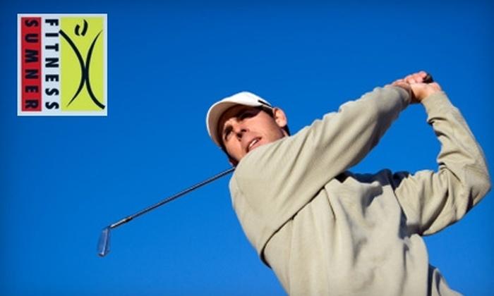 Sumner Fitness - Bethesda: $50 for a Golf Swing Evaluation from Sumner Fitness