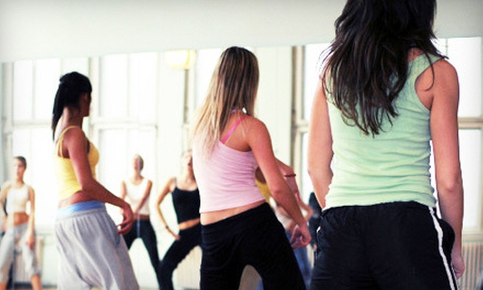 Rhythm and Fitness - Middletown: 10 or 20 Group Fitness Classes at Rhythm and Fitness (Up to 79% Off)