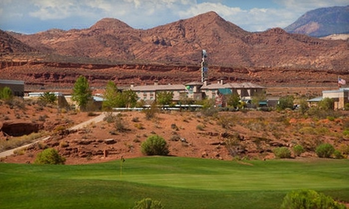 Holiday Inn Express St. George  - Salt Lake City: $179 for a One-Night Stay at the Holiday Inn Express St. George and Two Rounds of Golf at Coral Canyon Golf Course in Washington (Up to $369 Value)