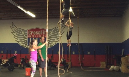 Up to 70% Off CrossFit Classes at CrossFit Happy Valley