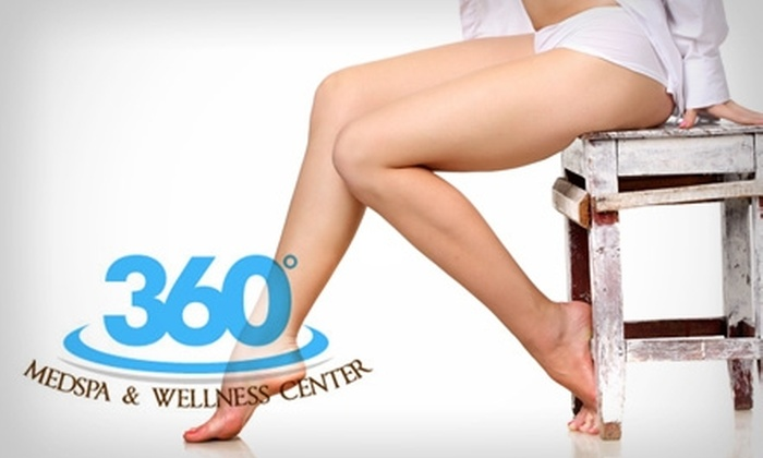 360° MedSpa and Wellness Center - Southview: $99 for Six Laser Hair-Removal Treatments at 360° MedSpa and Wellness Center (Up to $1,230 Value)