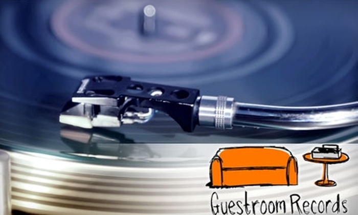 Guestroom Records - Multiple Locations: $10 for $20 worth of CDs and Vinyl at Guestroom Records