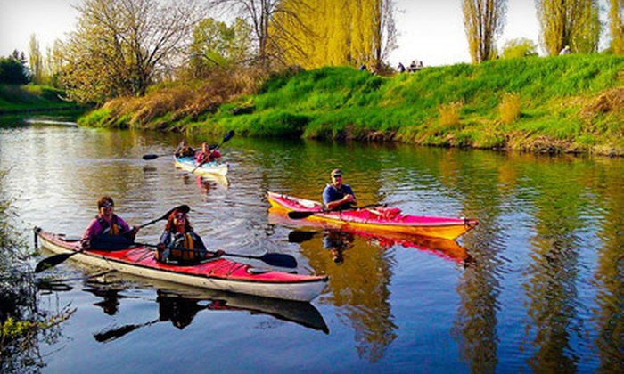 Outdoor Adventure Center - Multiple Locations: Redmond to Redhook River Kayak Tour or Lopez Island Sea Kayak Tour from Outdoor Adventure Center (51% Off)