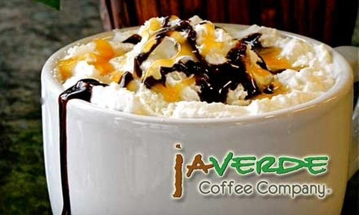 jAVERDE Coffee Company - 6: $5 for $10 Worth of Coffee and Café Fare at jAVERDE