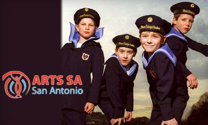 ARTS San Antonio - Multiple Locations: One Ticket to The Vienna Boys Choir in Concert at Lila Cockrell Theatre Presented by Arts San Antonio (Up to $60 Value). Choose from Four Seating Options.