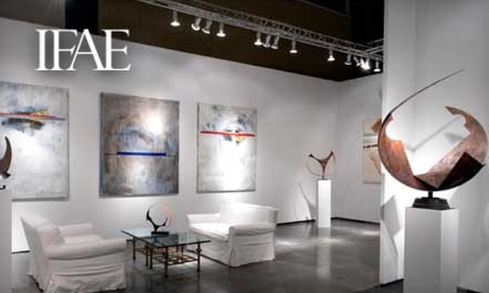 International Fine Art Expositions - Downtown West Palm Beach: Admission to the American International Fine Art Fair or to Art Palm Beach. Four Ticket Options Available.