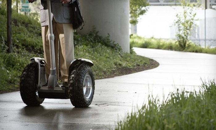 Segway New Orleans Tours - French Quarter: $40 for a Two-Hour Tour of New Orleans from Segway New Orleans Tours ($80 Value)