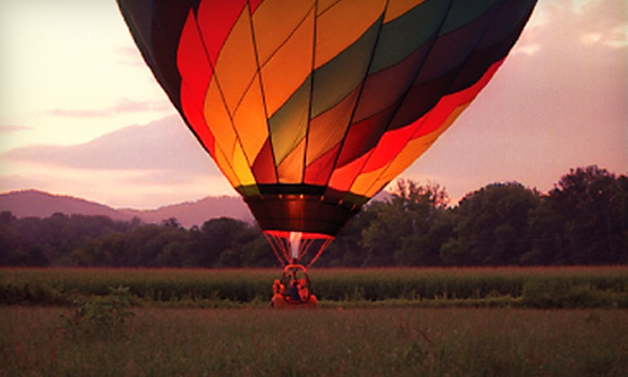 R.O. Franks Hot Air Balloon Company - Downtown Asheville: $125 for a Hot Air Balloon Ride for One from R.O. Franks Hot Air Balloon Company in Asheville ($250 Value)