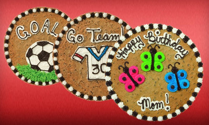Great American Cookies - Multiple Locations: $15 for a 16-Inch Cookie Cake at Great American Cookies ($29.99 Value)
